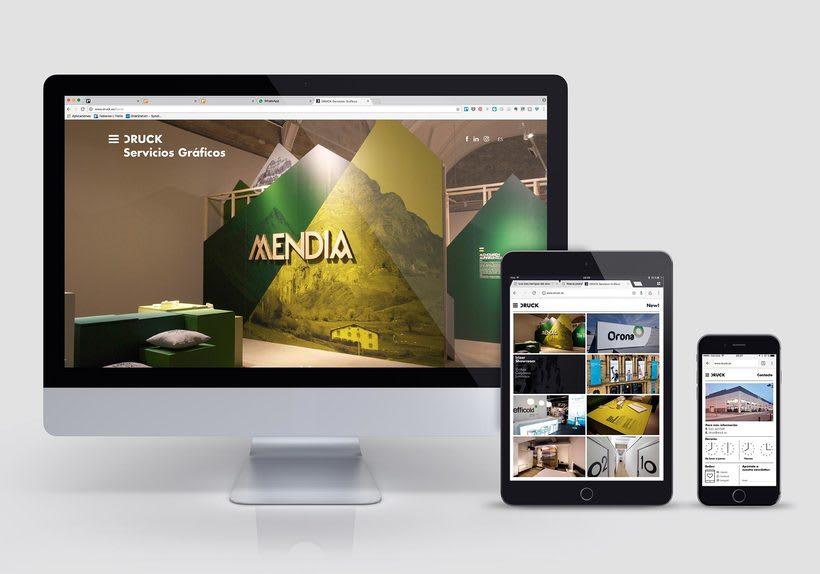 Druck, sitio web 0