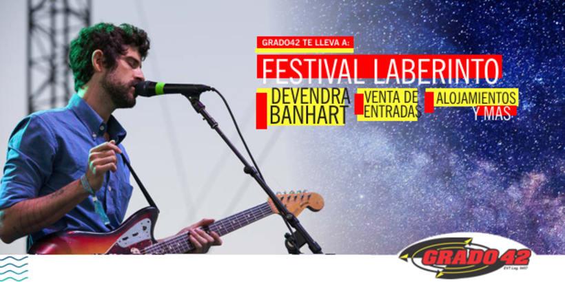 """Video Promocional para el """"FESTIVAL LABERINTO"""" en Buenos Aires, Argentina. -1"""