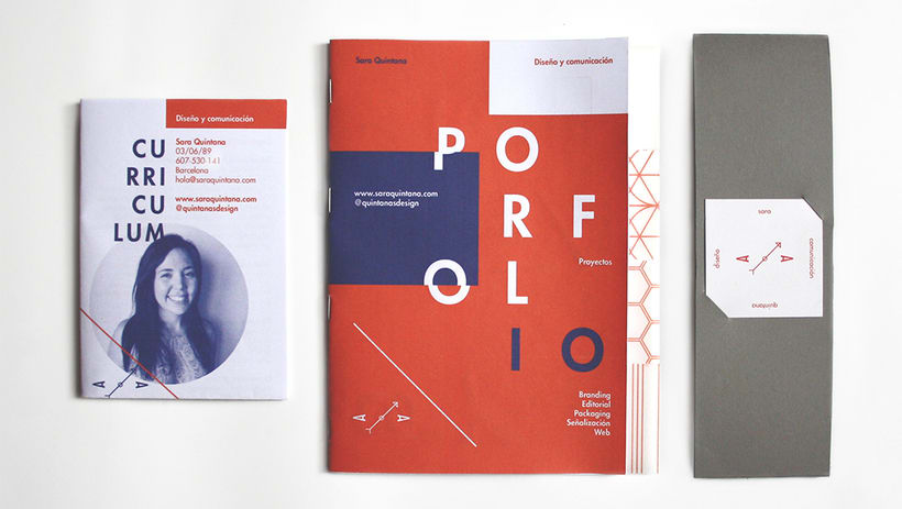 Personal branding. CV & Portfolio. 1