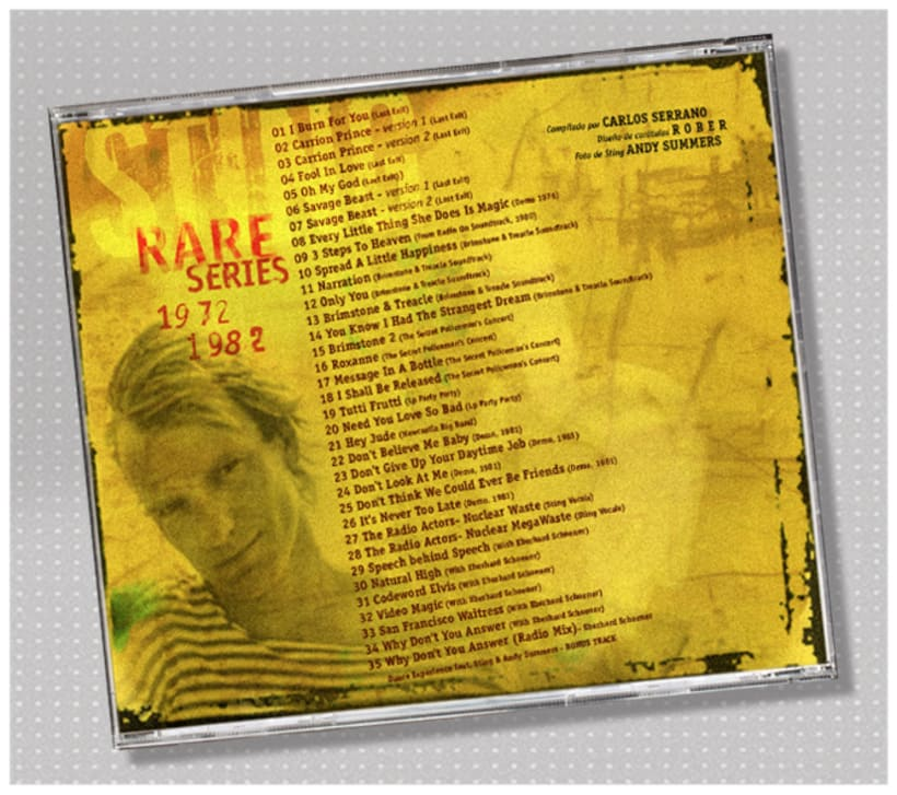 Sting: Rare Series 1972-1982. 2