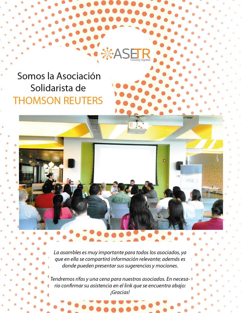 Newsletters para Thomson Reuters ASETR Asociación Solidarista de T&R 9