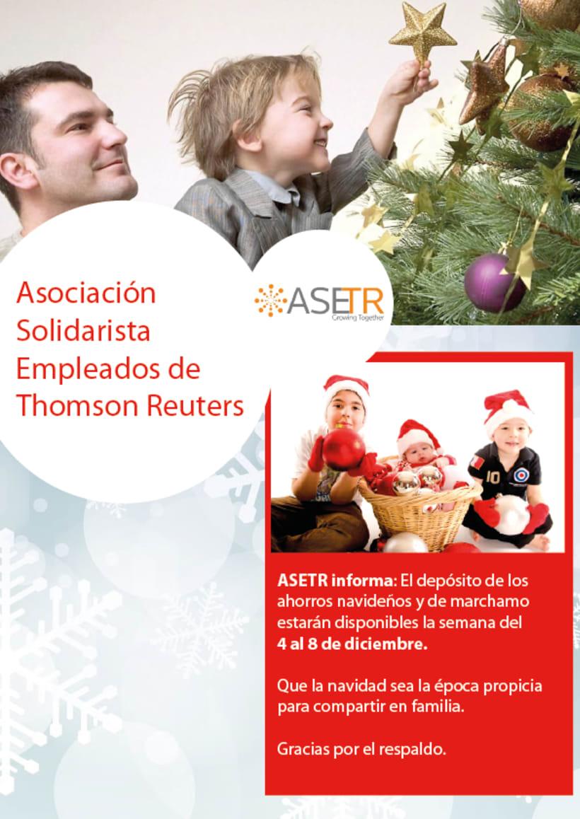 Newsletters para Thomson Reuters ASETR Asociación Solidarista de T&R 11