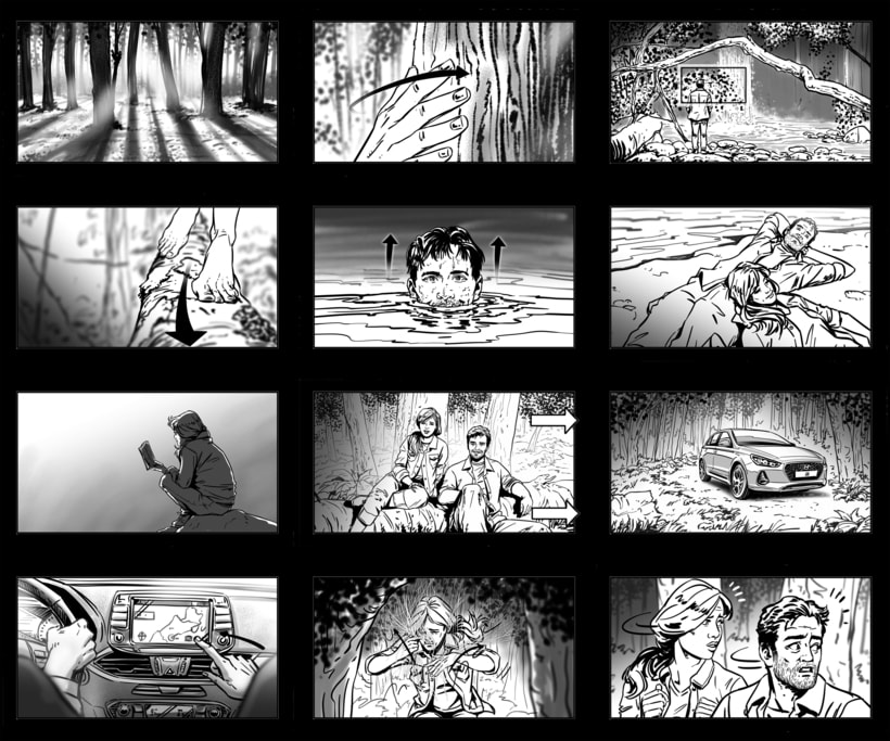 Shooting Board - HYUNDAI 'Lo más básico' (Ad) 1