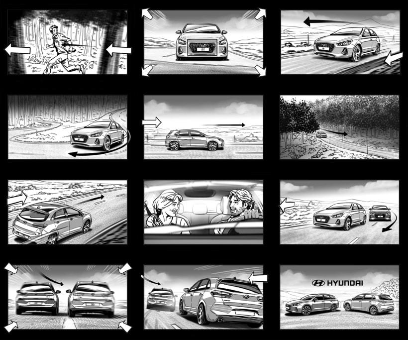 Shooting Board - HYUNDAI 'Lo más básico' (Ad) 2