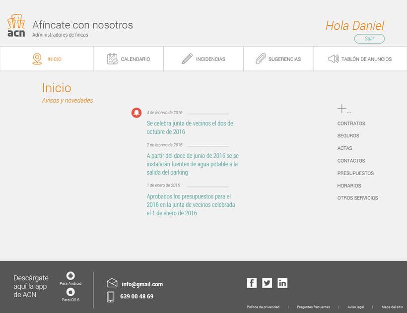 ACN. Proyecto UX/UI molón 8