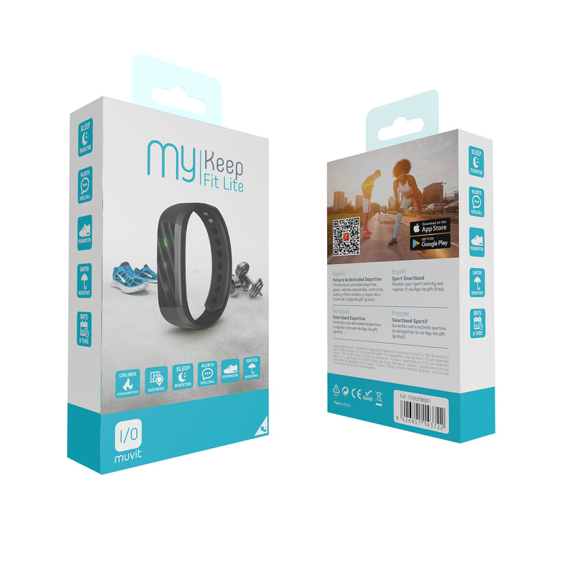 muvit I/O Wearables Products Packaging 1