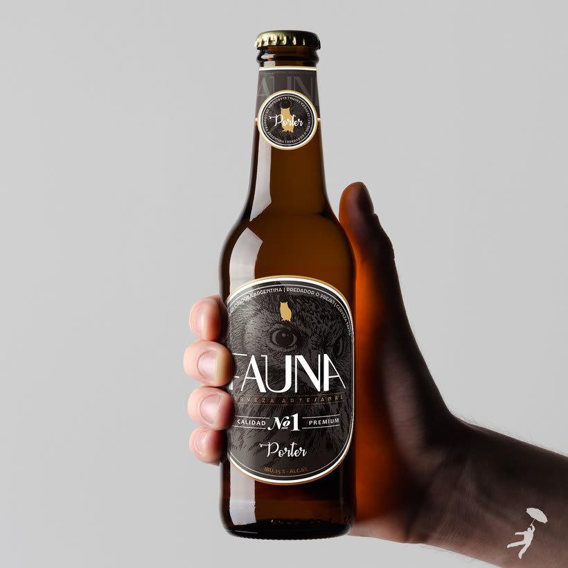 Identidad: Cerveza FAUNA 3