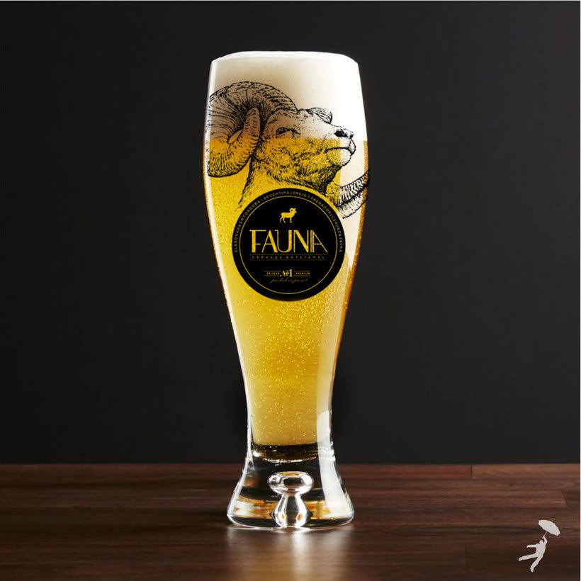 Identidad: Cerveza FAUNA 4