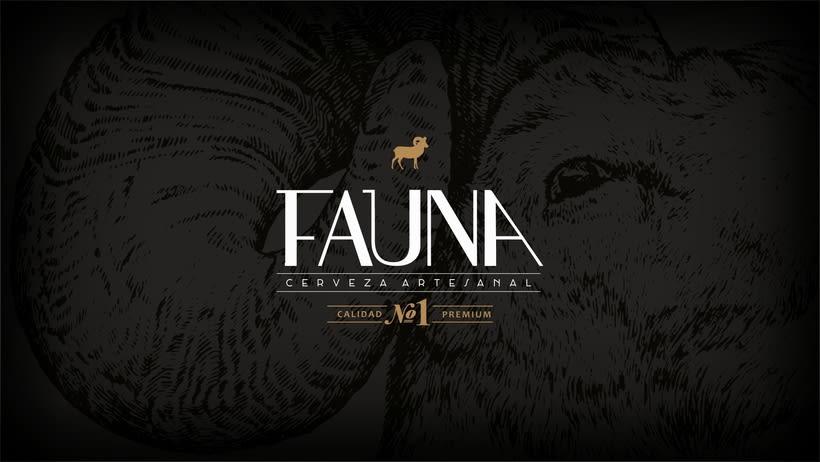 Identidad: Cerveza FAUNA 0