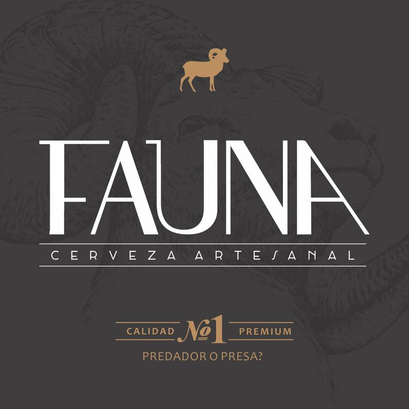 Identidad: Cerveza FAUNA 6