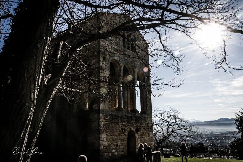 Santa Maria del Naranco, monumento prerromanico de Oviedo - Asturias -1