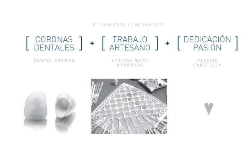 Logotipo para protésico dental 1