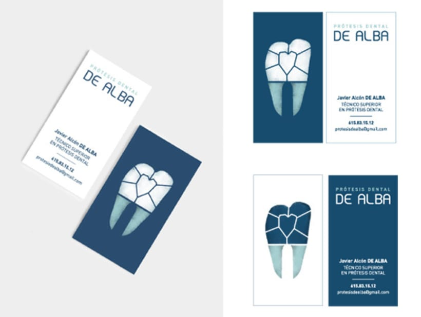 Logotipo para protésico dental 6