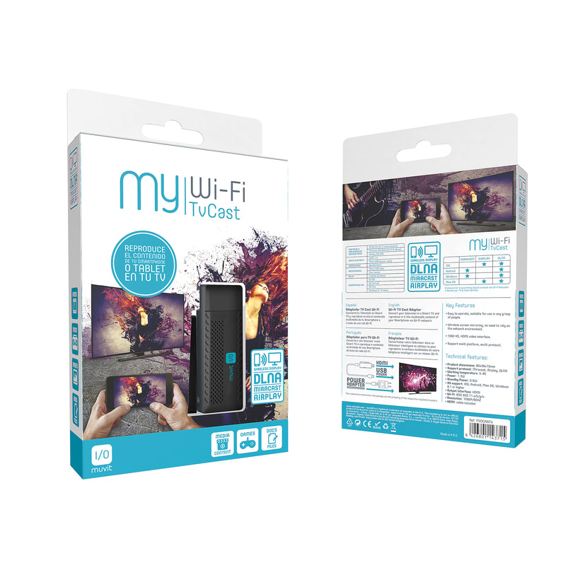 Wi-Fi TV cast Packaging 0