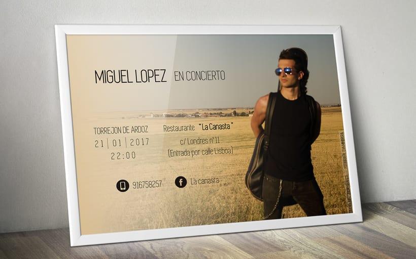 Cartel para concierto  1