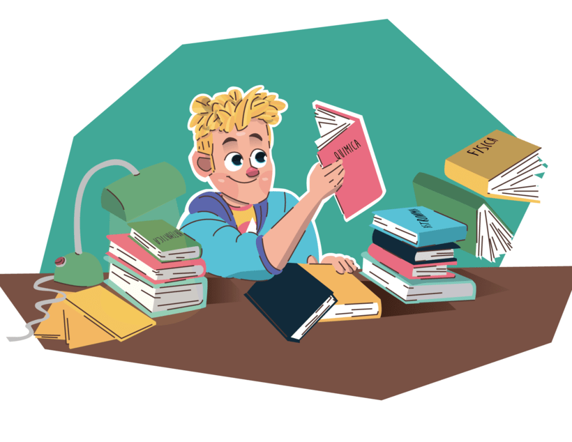 Alcanzando Una Estrella | Ilustración Infantil 5