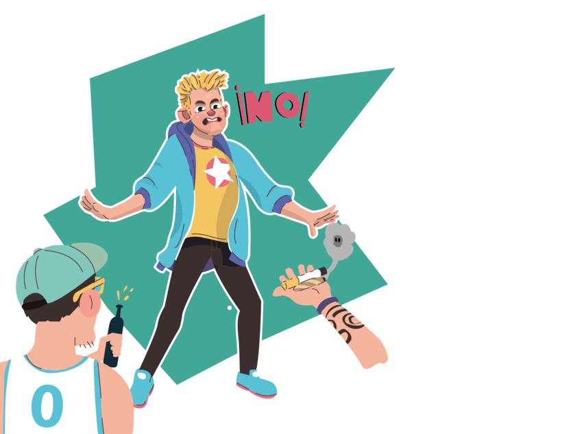 Alcanzando Una Estrella | Ilustración Infantil 8