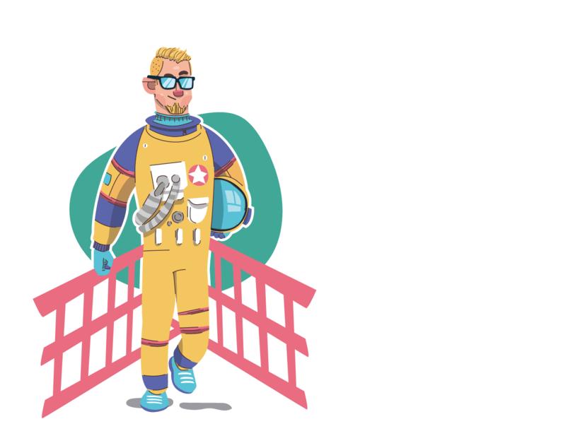 Alcanzando Una Estrella | Ilustración Infantil 13