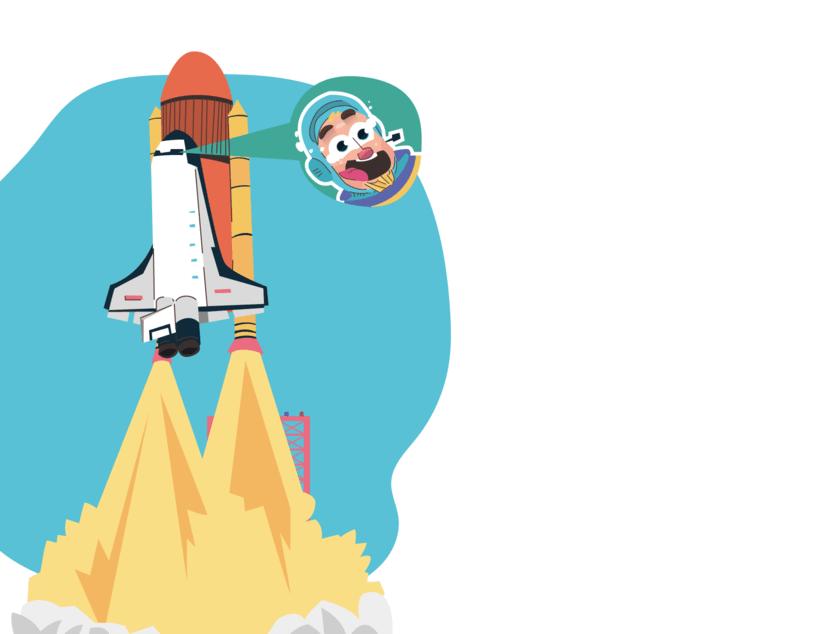 Alcanzando Una Estrella | Ilustración Infantil 14