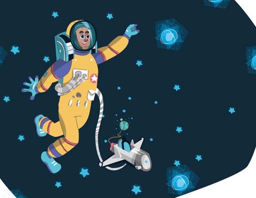 Alcanzando Una Estrella | Ilustración Infantil 16