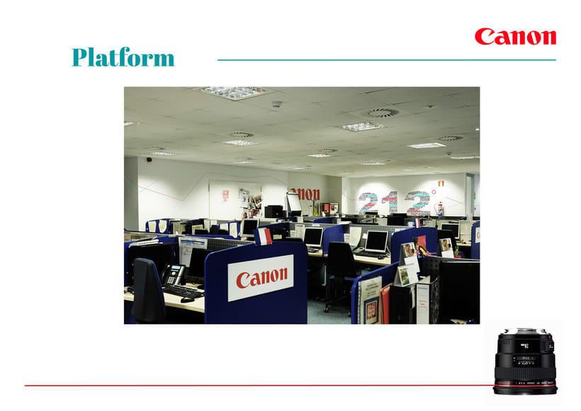 Re-Branding Canon | Arvato Iberia 4
