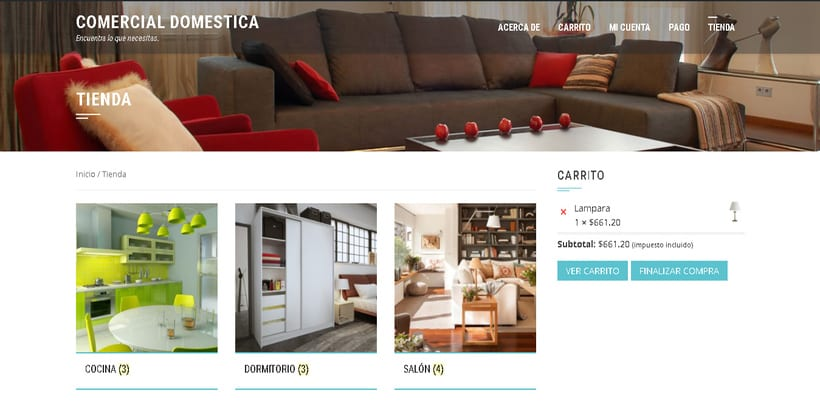 Comercial Domestica. Encuentra todo para tu hogar 0