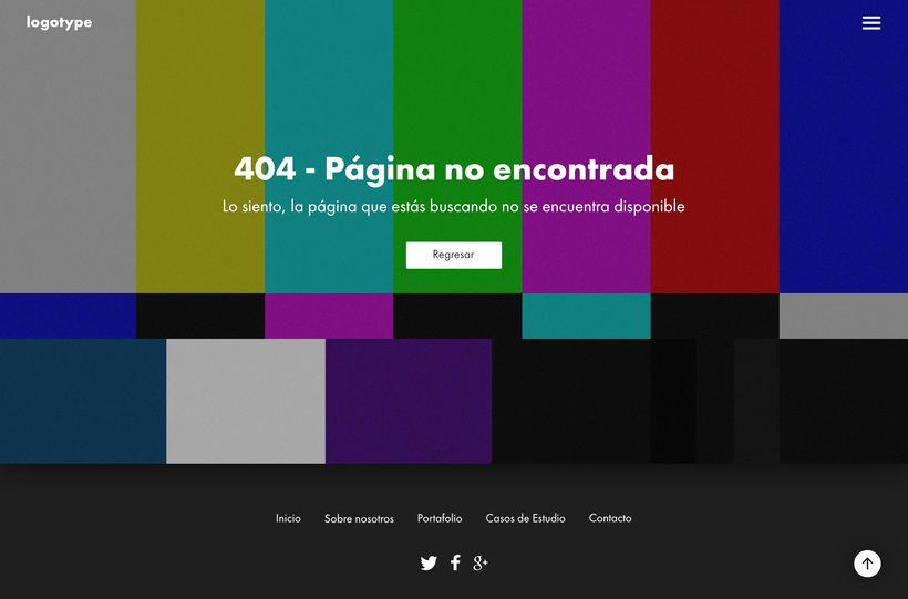Página - Error 404 -1