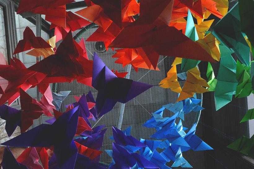 Mariposas Origami 0