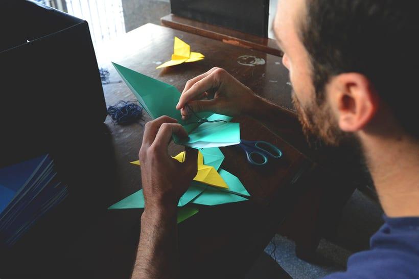 Mariposas Origami 2
