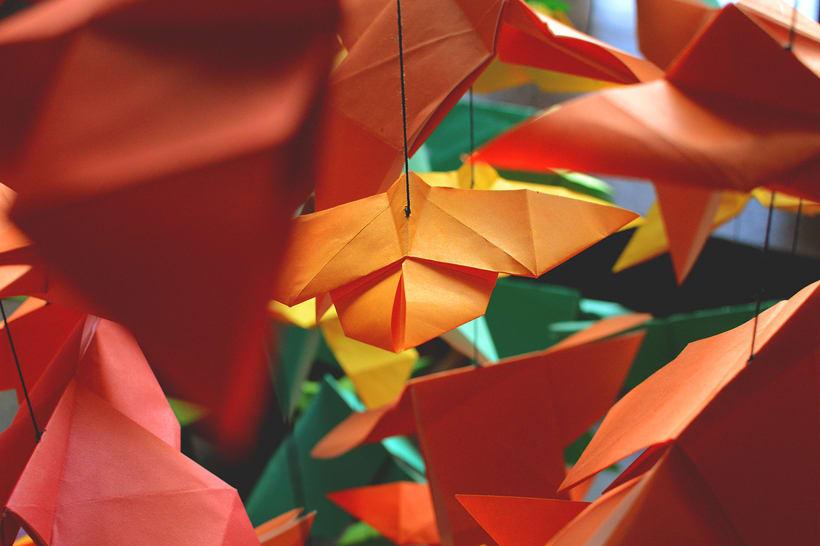Mariposas Origami 5