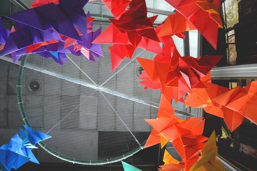 Mariposas Origami 6