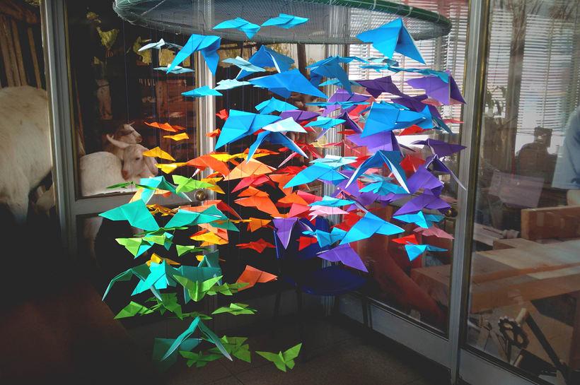 Mariposas Origami 8