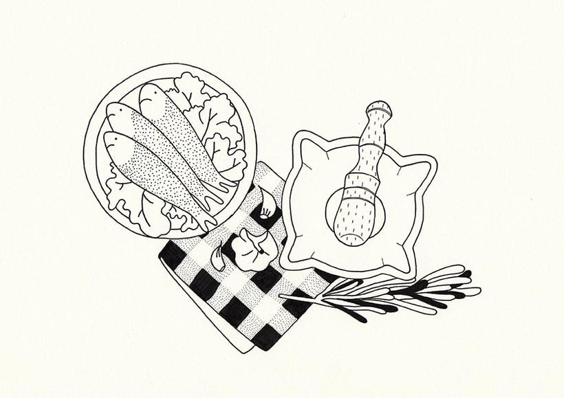 Slow food - ilustraciones 3
