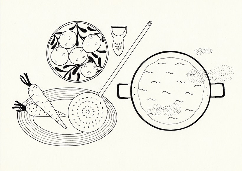 Slow food - ilustraciones 6