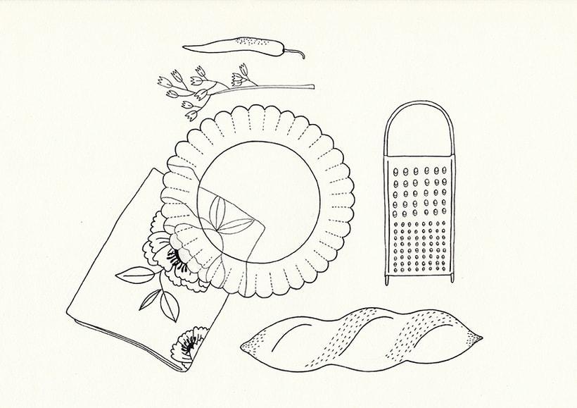 Slow food - ilustraciones 2