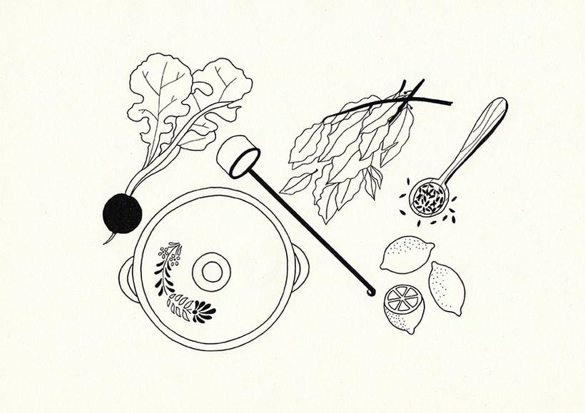 Slow food - ilustraciones 5