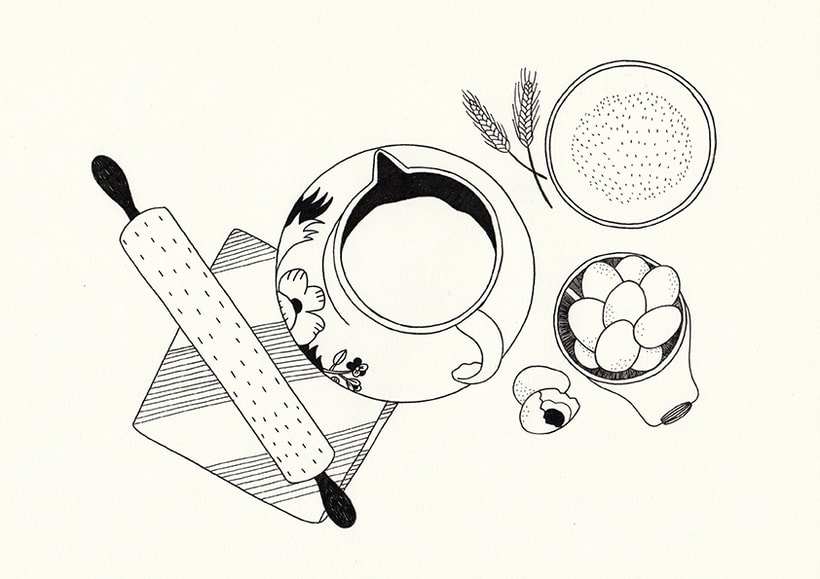 Slow food - ilustraciones 4