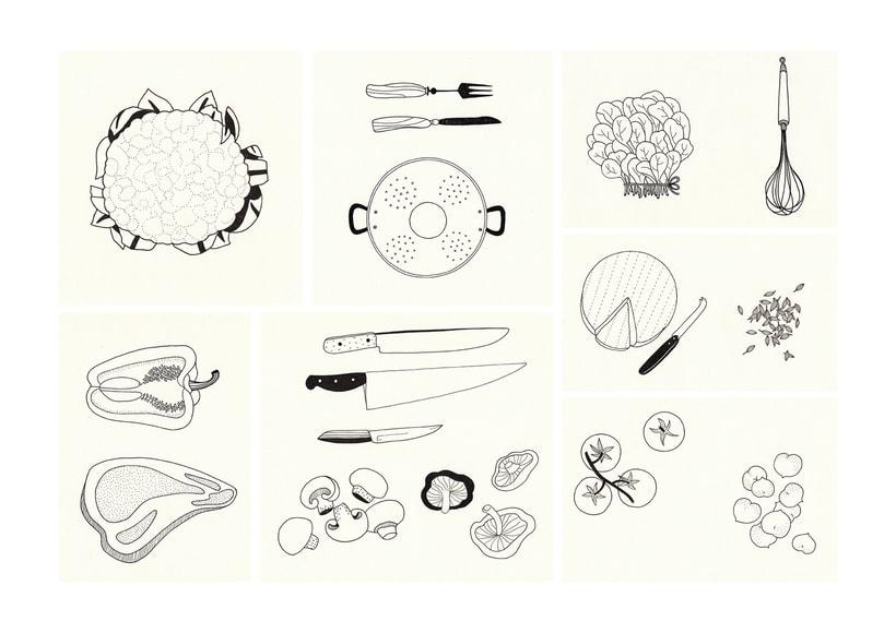 Slow food - ilustraciones 7