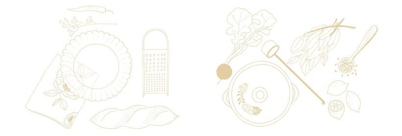 Slow food - ilustraciones 8