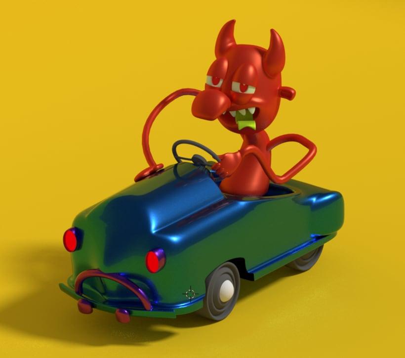 Driving Devil -1