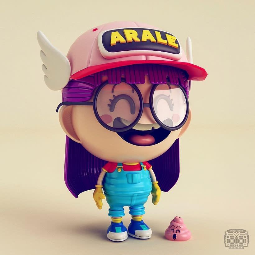 Personajes y Más... 3D 4