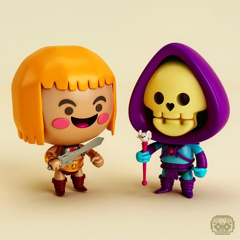 Personajes y Más... 3D 3