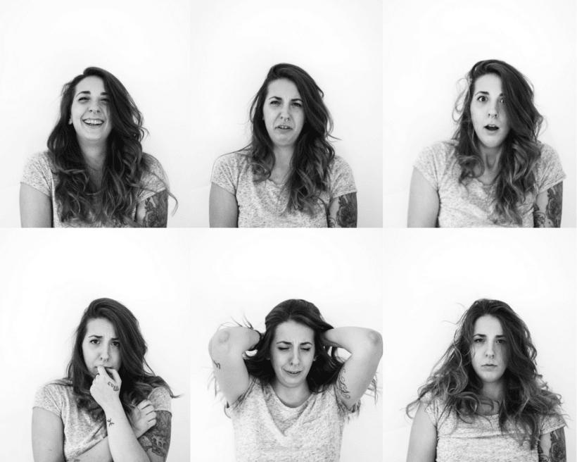 Reportaje fotográfico 6 emociones básicas 0