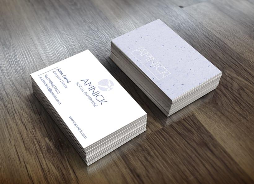 Diseño de logo y tarjeta de visita -1