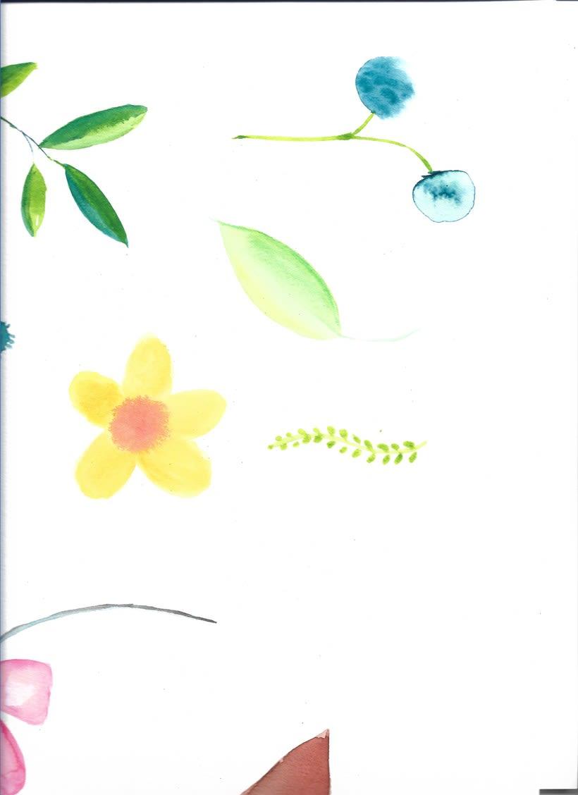 Punto magenta: Retrato ilustrado en acuarela 9