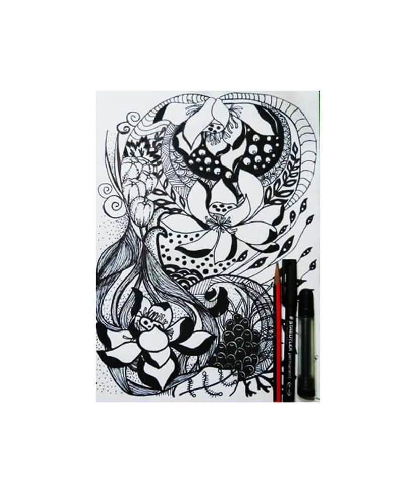 Ilustraciones con tinta -1