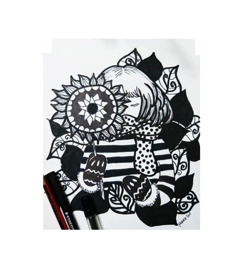 Ilustraciones con tinta 0