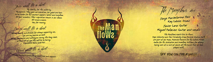 CD Design: The Manflows - Tree Of Us 2