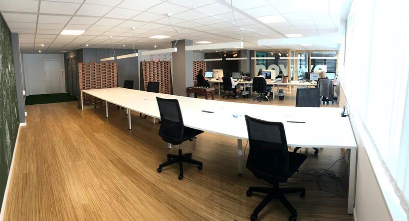 Alquiler de mesas de trabajo en Agencia digital 1