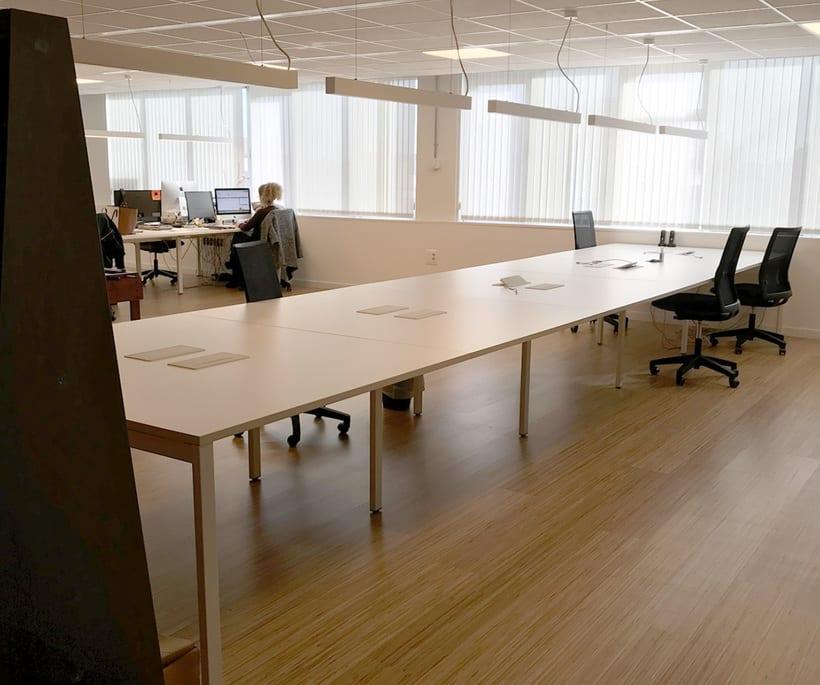 Alquiler de mesas de trabajo en Agencia digital 2